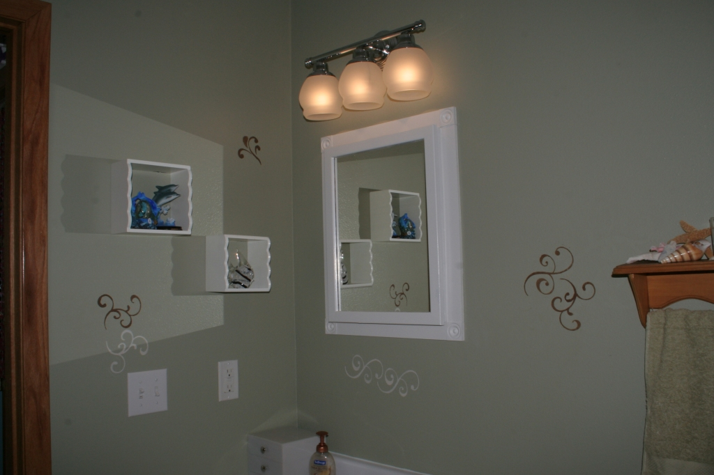 After bathroom makeover