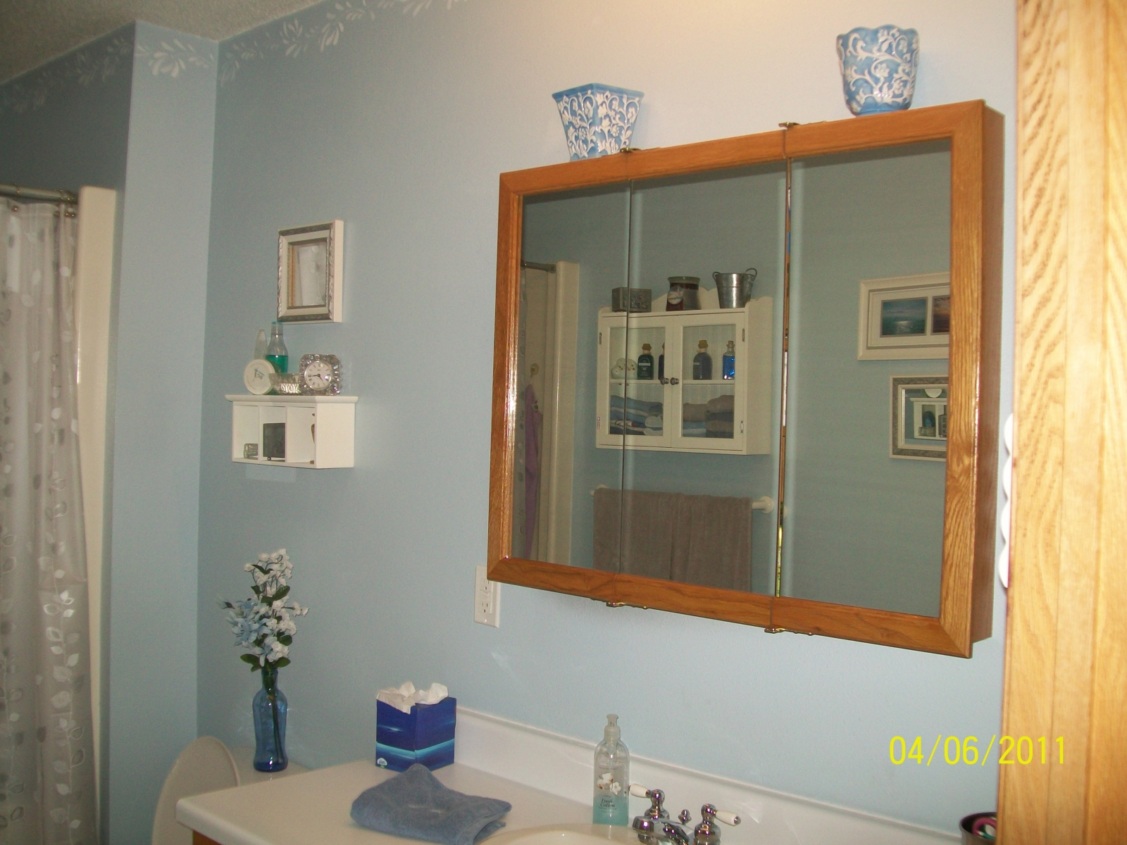 Before bathroom makeover
